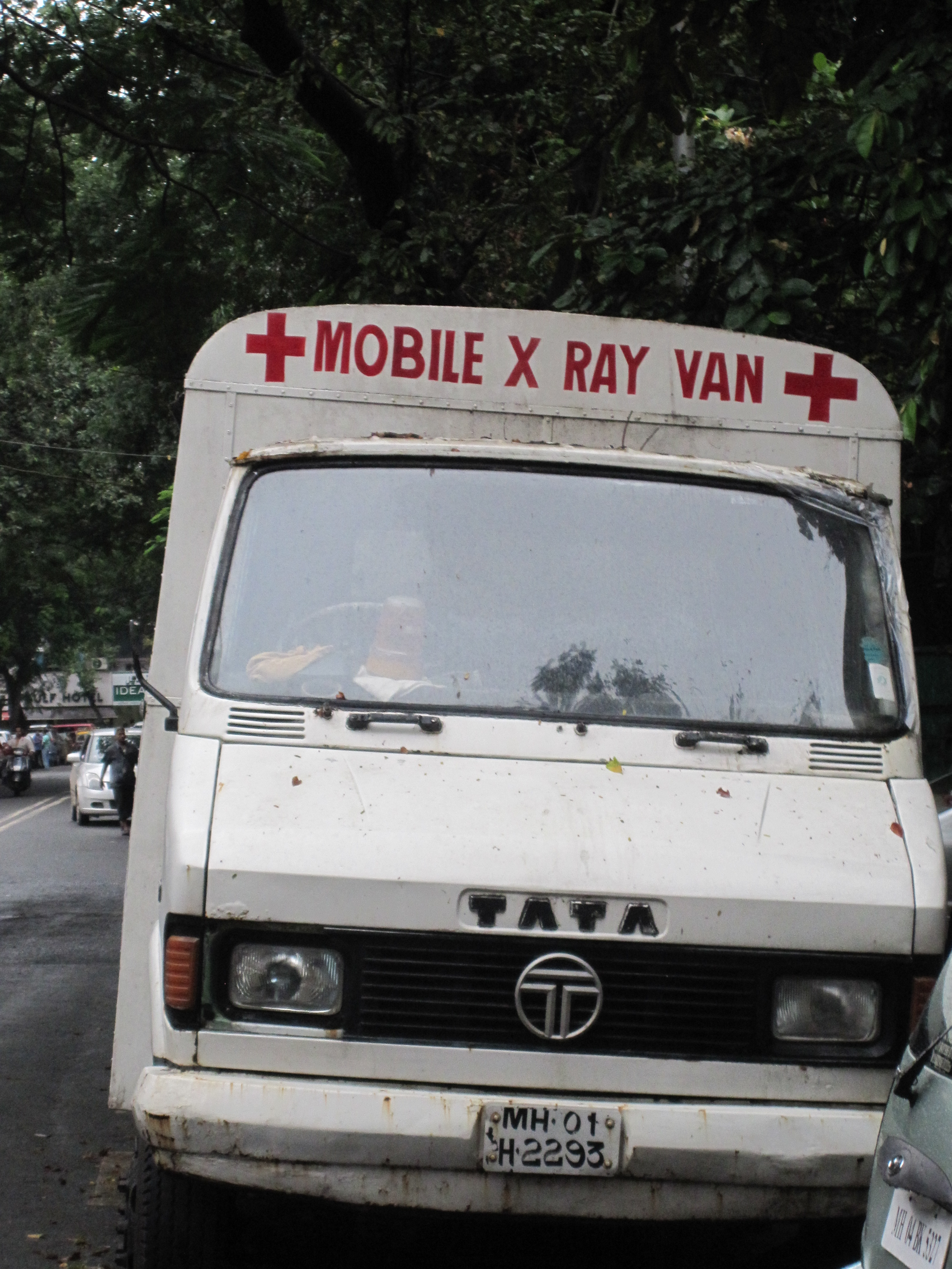 Mobile X Ray Van