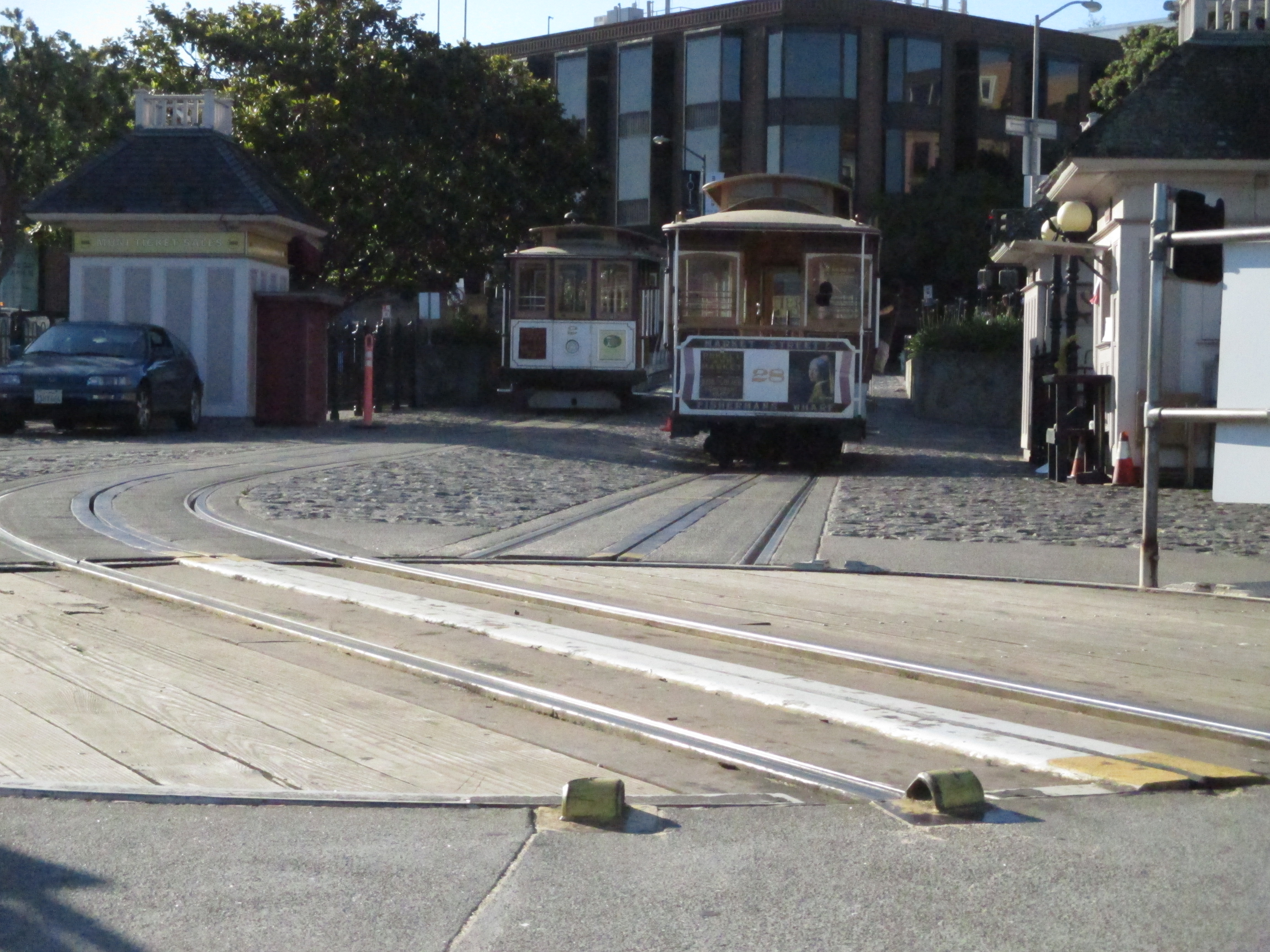 Cable Car turnaround