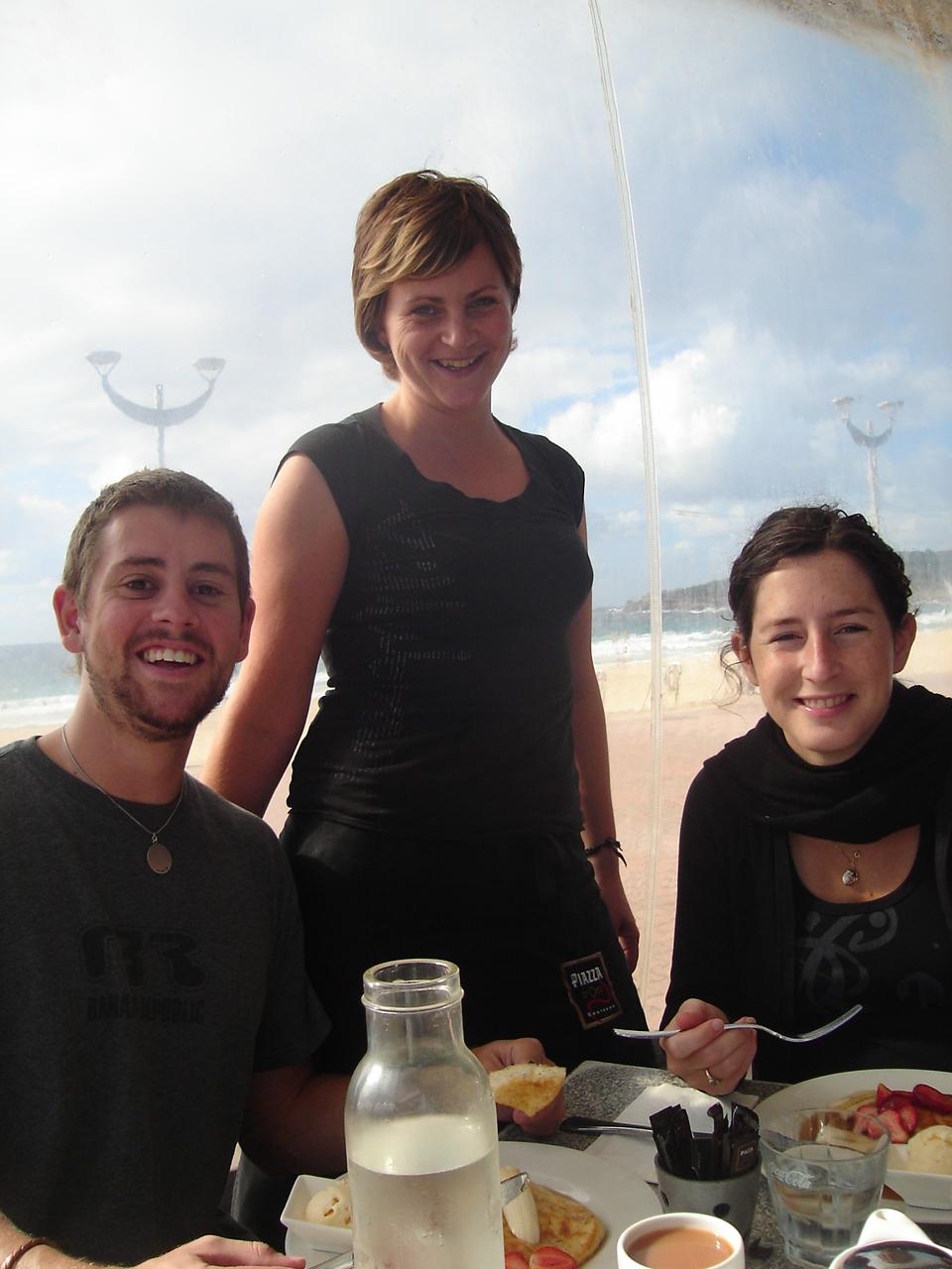 2005 beim Bekellnern meiner Mitbewohner